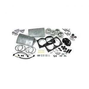 63-67 Complete Headlight Package (Less Motors)