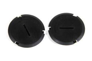 2000-2004 Corvette Headlight Adjuster Hole Plugs