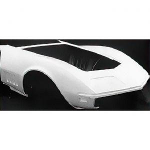 1968-1969 Corvette One-Piece Fiberglass Front End Assembly (HL)