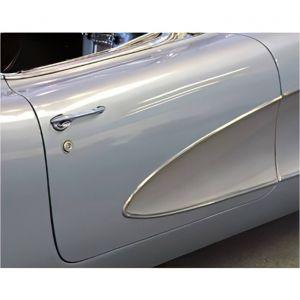 1956-1960 Corvette Door Outer Skin Fiberglass (HL)