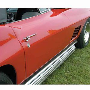 1964L-1967 Corvette Conv Door Outer Skin Fiberglass (HL)