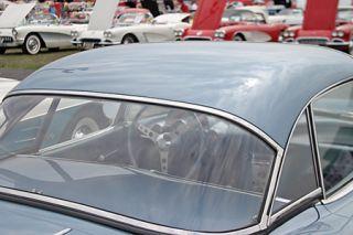 1956-1960 Corvette Hard Top Rear Window (Dated)