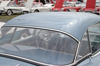 1961-1962 Corvette Hard Top Rear Window (Dated)