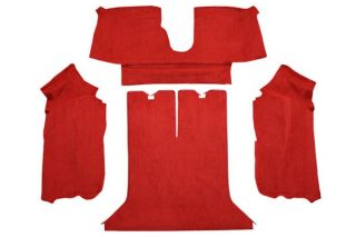 90-91 Coupe Rear Only Carpet Set