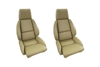 84-88 STD Mounted Seat Covers & Foam - Perforated (Leather)