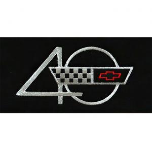 1993 Corvette ACC Floor Mats w/Embroidered 40th Emblem