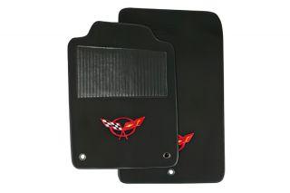 1997-2004 Corvette ACC TruVette Floor Mats w/Embroidered C5 Emblem
