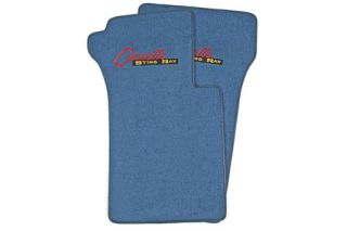 "1963-1967 Corvette ACC Floor Mats w/Embroidered ""Stingray"" Emblem"