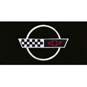 1994-1996 Corvette ACC TruVette Floor Mats w/Embroidered C4 Emblem