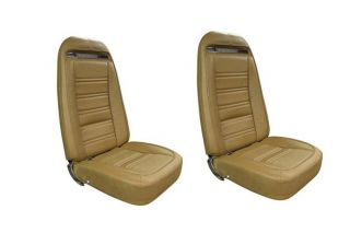 75 Seat Covers (Original Style Leather w/Vinyl Skirts)