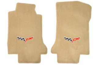 2005-2007E Corvette Lloyd Ultimat Floor Mats w/C6 Emblem