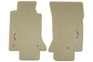 2003 Corvette Lloyd Ultimat Floor Mats w/50th Emblem
