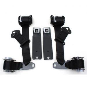 74-77 Coupe Seat Belt Set w/Shoulder Harness (Reproduction)