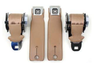 1972-1977 Corvette Seat Belts - Retractable Lap Belt Only w/GM Buckle