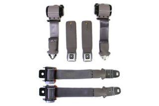 74-75 Conv Seat Belt Set w/Shoulder Harness (Reproduction)