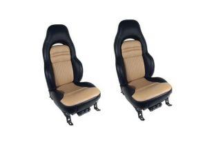 97-04 Sport Custom Two-Tone Seat Covers