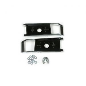 68-77 Lock Knob Backplates