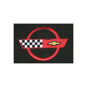 84-90 Coupe Lloyd Velourtex Cargo Mat w/C4 Emblem