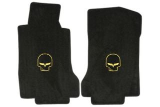 "2005-2007E Corvette Lloyd Velourtex Floor Mats w/""Jake"" Emblem"