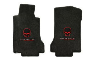 "2005-2007E Corvette Lloyd Velourtex Floor Mats w/""Jake"" & Corvette Racing"
