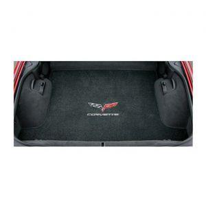 05-13 Coupe Lloyd Velourtex Cargo Mat w/C6 Corvette Emblem & Corvette