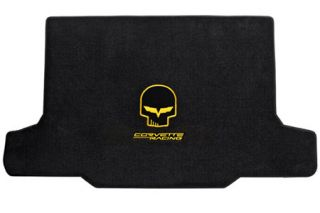 "2005-2013 Corvette Lloyd Velourtex Cargo Mat w/""Jake"" & Corvette Racing Emblem"