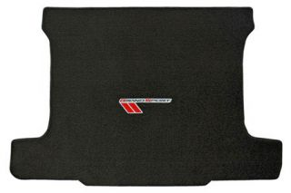2010-2013 Corvette Lloyd Velourtex Cargo Mat w/Grand Sport Emblem (Red/Black Emblem)