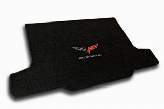 2005-2013 Corvette Convertible Velourtex Cargo Mat w/C6 Emblem & Corvette