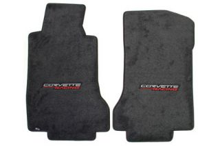 2005-2007E Corvette Lloyd Ultimat Floor Mats w/Corvette Racing Emblem