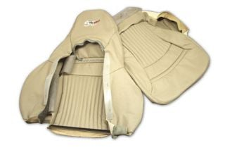 2003 Corvette 50th Shale Sport 100% Leather Seat Covers