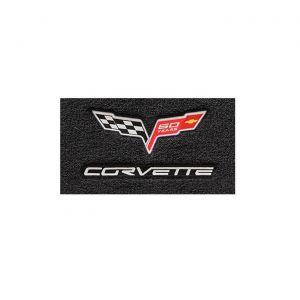 13E Lloyd Velourtex Floor Mat w/60th Logo & Corvette Script