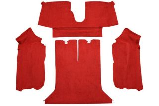 88-89 Coupe Rear Only Carpet Set