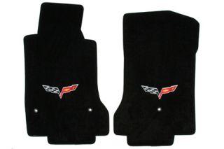 2013L Corvette Lloyd Velourtex Floor Mats w/C6 Emblem