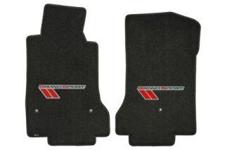 2013L Corvette Lloyd Ultimat Floor Mats w/Red-Black Grand Sport Logo