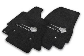 14-18 Lloyd Floor Mats w/C7 Stingray & Corvette Script (Accessory Color_Script Color)