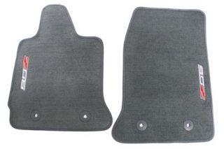 15-18 Z06 GM Front Floor Mats (Galvanized) (Default)