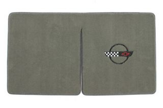 95-96 Conv. Ultimat Cargo Mat w/C4 Emblem (BodyStyle_UltimatFlrMtCol_FlrMtEmbCol)