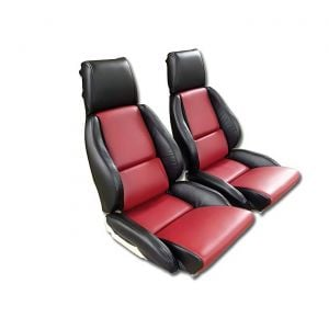84-88 STD Two-Tone Seat Covers (Leather)