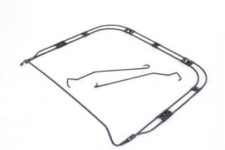 61-62 Seat Bottom Retainer Ring w/Hold Down Rods