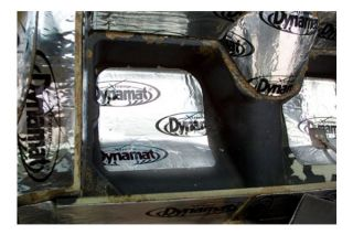 63-67 Coupe Dynamat Xtreme Rear Cargo Sound Deadening Kit