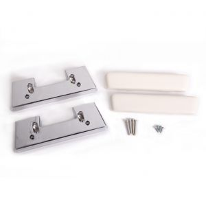 64 Door Panel Arm Rest Assembly (White)