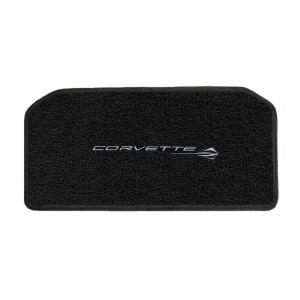 20-21 Lloyd Ultimat Front Storage Compartment Mat w/Corvette Script & Stingray Emblem Combo