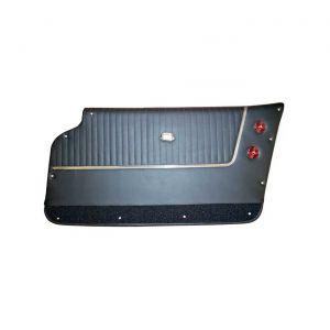 63-64 Cpe Deluxe Leather Door Pans (Installed Trim)