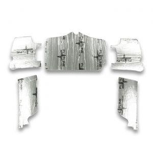 56-60 Flatline Barrier Convertible Top Well Insulation Kit