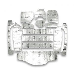 63-67 Coupe Flatline Barrier Rear Cargo Insulation Kit