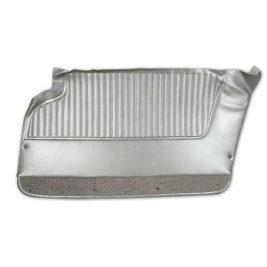 63-64 Door Panels w/o Upper Supports in Silver
