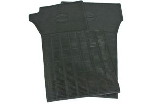 1963-1967 Corvette Black Vinyl Floor Mats