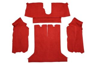 84-87 Cpe Rear Only Carpet Set
