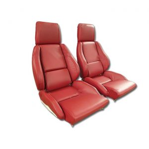 84-88 STD Seat Covers - Perforated Inserts (Leather)
