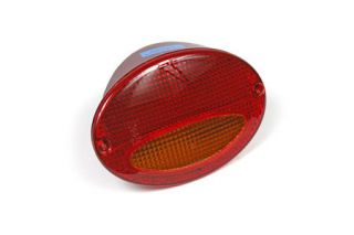 1997-2004 Corvette Red/Amber Euro Tail Light